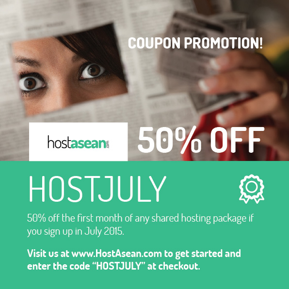 Hosting Coupon - HOSTJULY