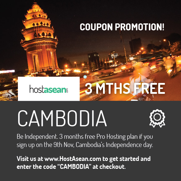 Hosting Coupon - CAMBODIA