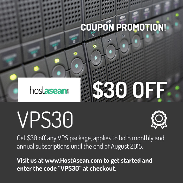 Hosting Coupon - VPS30