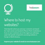 Where to host my websites?