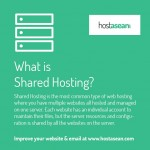 What is shared hosting?