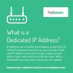 What is a dedicated IP address?