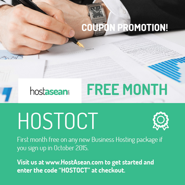 Hosting Coupon - HOSTOCT