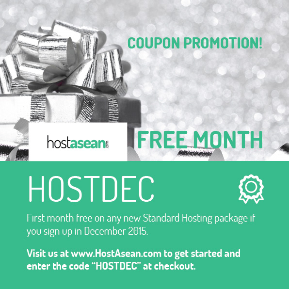 Hosting Coupon - HOSTDEC