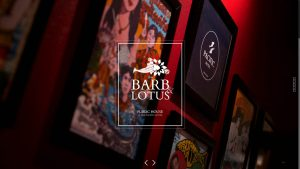Barb & Lotus Bar & Restaurant Website Design