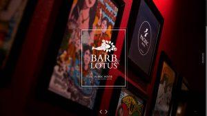 Barb & Lotus Bar & Restaurant Website Design