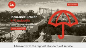 IBS Cambodia Insurance Broker Website Design