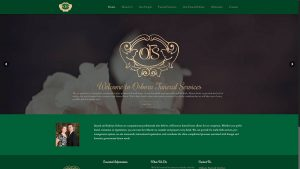 Osborn Funeral Services Cambodia Website Design
