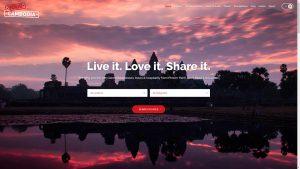 YourCambodia.com Travel Website Design